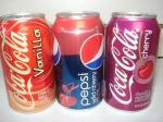 Cherry coke Vanilla coke Pepsi cherry at burnaby bc vancouver