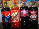 2lt Coke Cherry, Dr. Pepper Cherry, 7up Cherry, Pepsi cherry